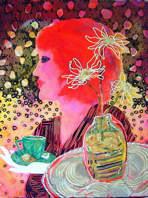 Teabag Print by Diane Fine
