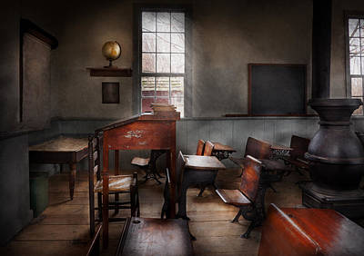 Back To Life Photograph - Teacher - The Education System by Mike Savad