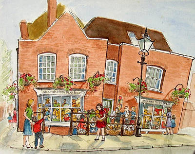 Teadybear Shop Original by Molly Farr
