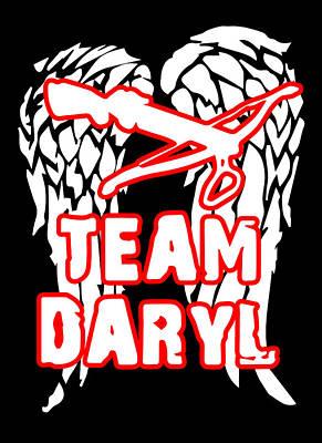 Fandom Digital Art - Team Daryl by Jera Sky