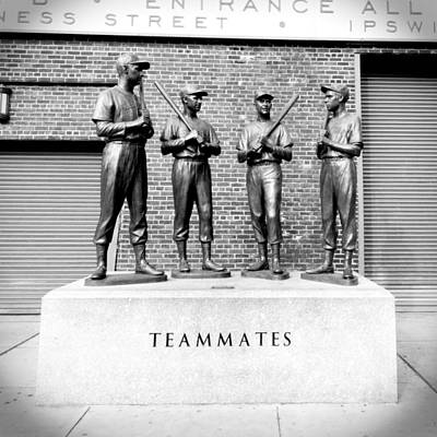 Teammates Print by Greg Fortier