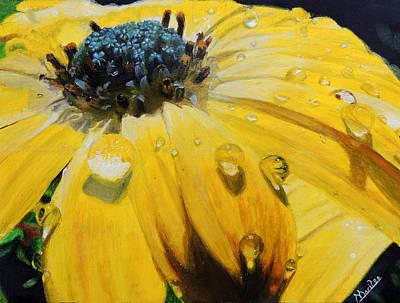 Tears Of The Sun Print by Maritza Tynes