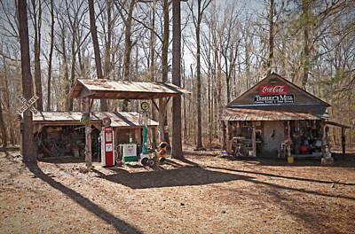 Country Store Photograph - Teasleys Mill by Donna Kennedy