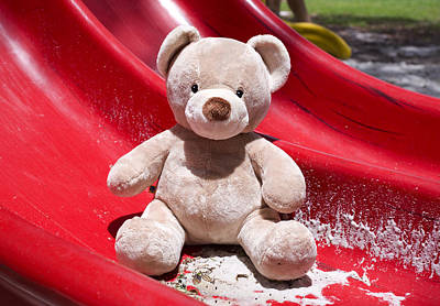 Toy Photograph - Teddy Bear 6 by William Patrick