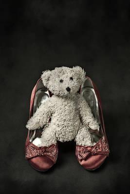 Teddy In Pumps Print by Joana Kruse