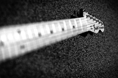 Music Photograph - Telecaster by Mark Rogan