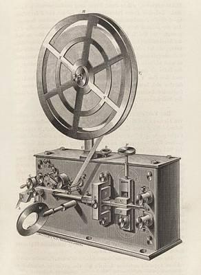 Telegraph Printer Print by King's College London
