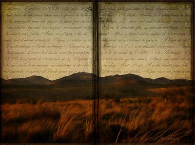 Tell Me A Story Print by Barbara Orenya