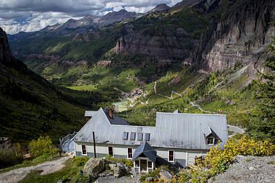 Colorado Mountains Photograph - Telluride Colorado House by Michael J Bauer