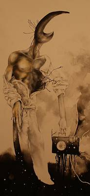Temel Aslan Print by Joseph Iovino