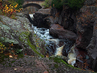 Temperance River Photograph - Temperance by James Peterson