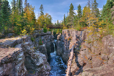 Temperance River Photograph - Temperance River  by Shane Mossman