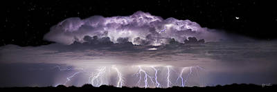 Lightning Photograph - Tempest - Craigbill.com - Open Edition by Craig Bill