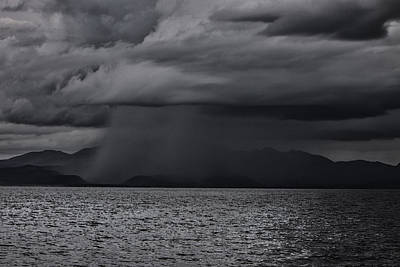 Cloudscape Digital Art - Tempest  by Kandy Hurley