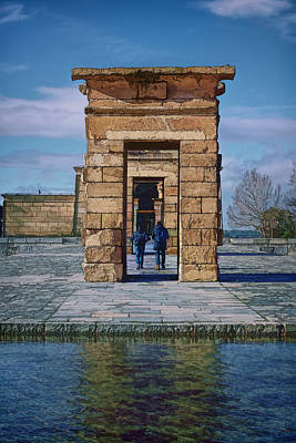 Temple Of Debod II Print by Joan Carroll
