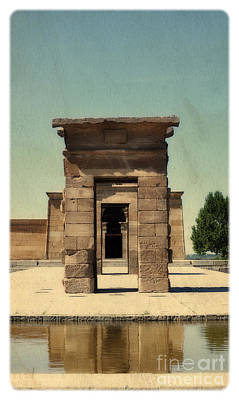 Temple Of Debod Print by Mary Machare