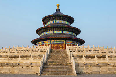 Adam Photograph - Temple Of Heaven And Hall Of Prayer by Peter Adams