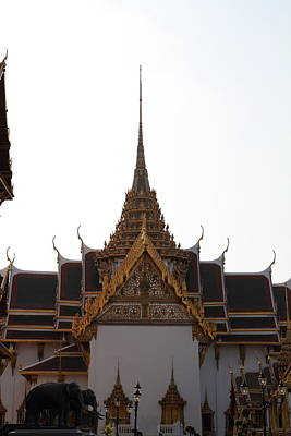 Buddha Photograph - Temple Of The Emerald Buddha - Grand Palace In Bangkok Thailand - 011315 by DC Photographer