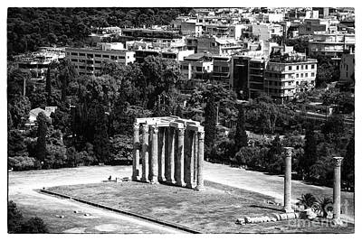 Greek School Of Art Photograph - Temple Of Zeus II by John Rizzuto