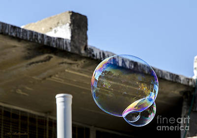 Israel Photograph - Temporary Local Bubble by Arik Baltinester