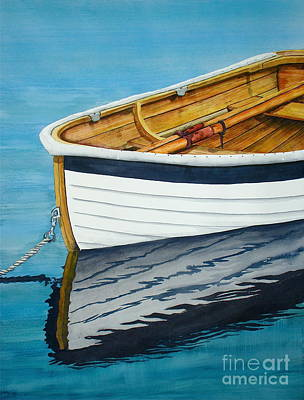 Dingy Painting - Tender One by Stephen Abbott