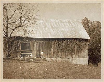Tennessee Farm Vintage Barn Print by Phil Perkins