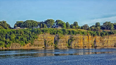 Tennessee River Cliffs Print by Mountain Dreams