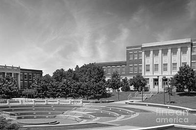 Tennessee State University Averitte Amphitheater Print by University Icons