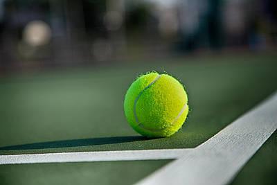 Courtside Photograph - Tennis Anyone by Karol Livote