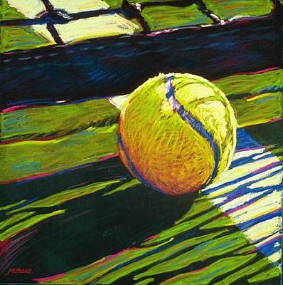 Sport Painting - Tennis I by Jim Grady