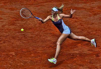 Maria Sharapova Photograph - Tennis Star Maria Sharapova by Srdjan Petrovic