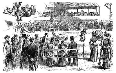 Inaugural Painting - Tennis Wimbledon, 1884 by Granger