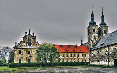 Architektur Photograph - Tepla Monastery - Czech Republic by Juergen Weiss