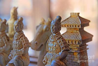 Terracotta Army Print by Al Bourassa