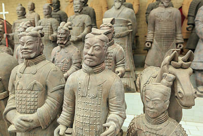 Terracotta Warrior's Factory, Xi'an Print by Stuart Westmorland