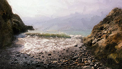 Terranea Cove Print by Ron Regalado