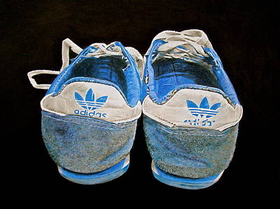 Adidas Drawing - Terry Fox Was Here by Gary Fernandez