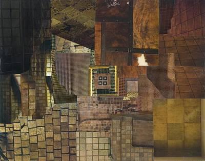 Mosaic Tesserae Tiles Mixed Media - Tesserae Primarius by Denise Mazzocco