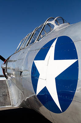 Planes Of Fame Photograph - Texan Lone Star by John Daly