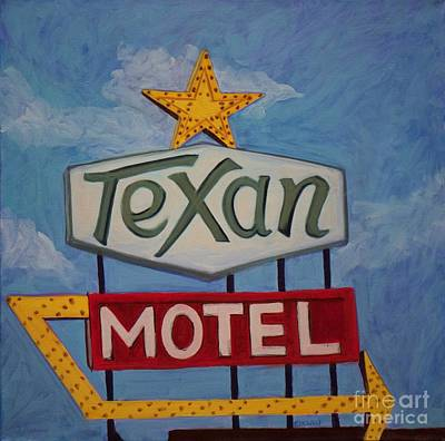 Texan Motel Original by Katrina West