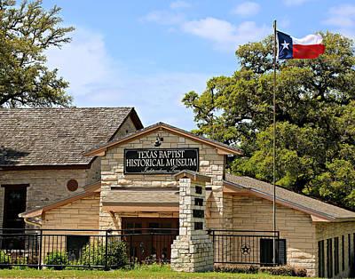 Texas Baptist Historical Museum Print by Stephen Stookey