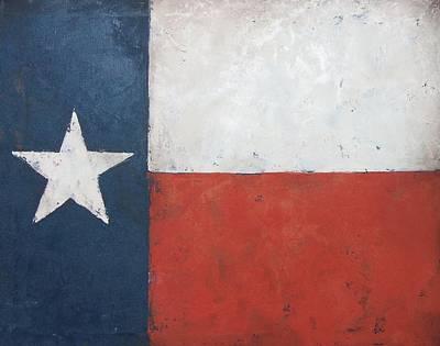 Texas Flag Original by Cheri Stripling