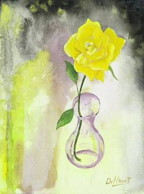 Texas Rose Original by Michael Dillon