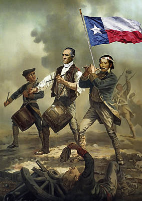 Republic Of Texas Digital Art - Texas Spirit by Daniel Hagerman