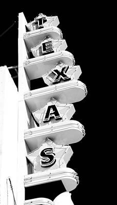 Dallas Photograph - Texas Theater by Darryl Dalton