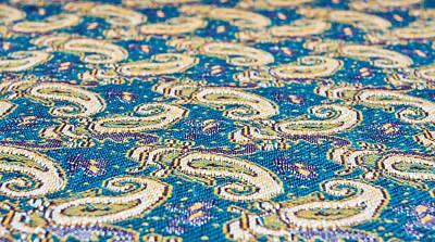 Textile Pattern Print by Tom Gowanlock