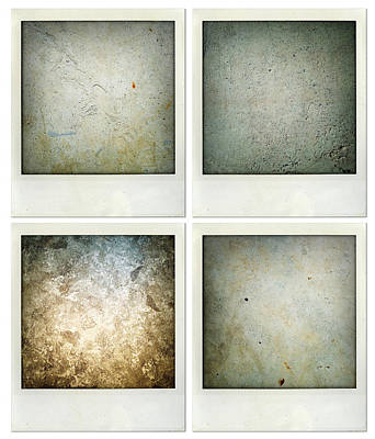 Textures Print by Les Cunliffe