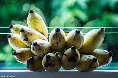 Photograph - Thai Banana by Kornrawiee Miu Miu