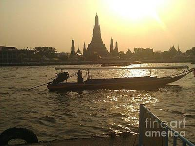 Photograph - Thai Sunset by Ted Williams