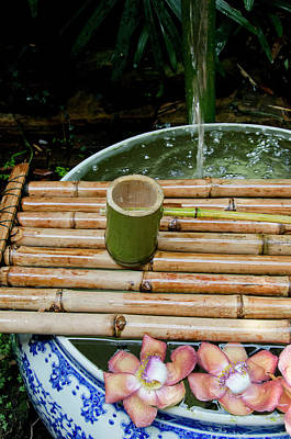 Water Jars Photograph - Thailand, Bangkok by Cindy Miller Hopkins